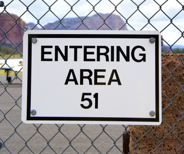 Area 51 in Nevada